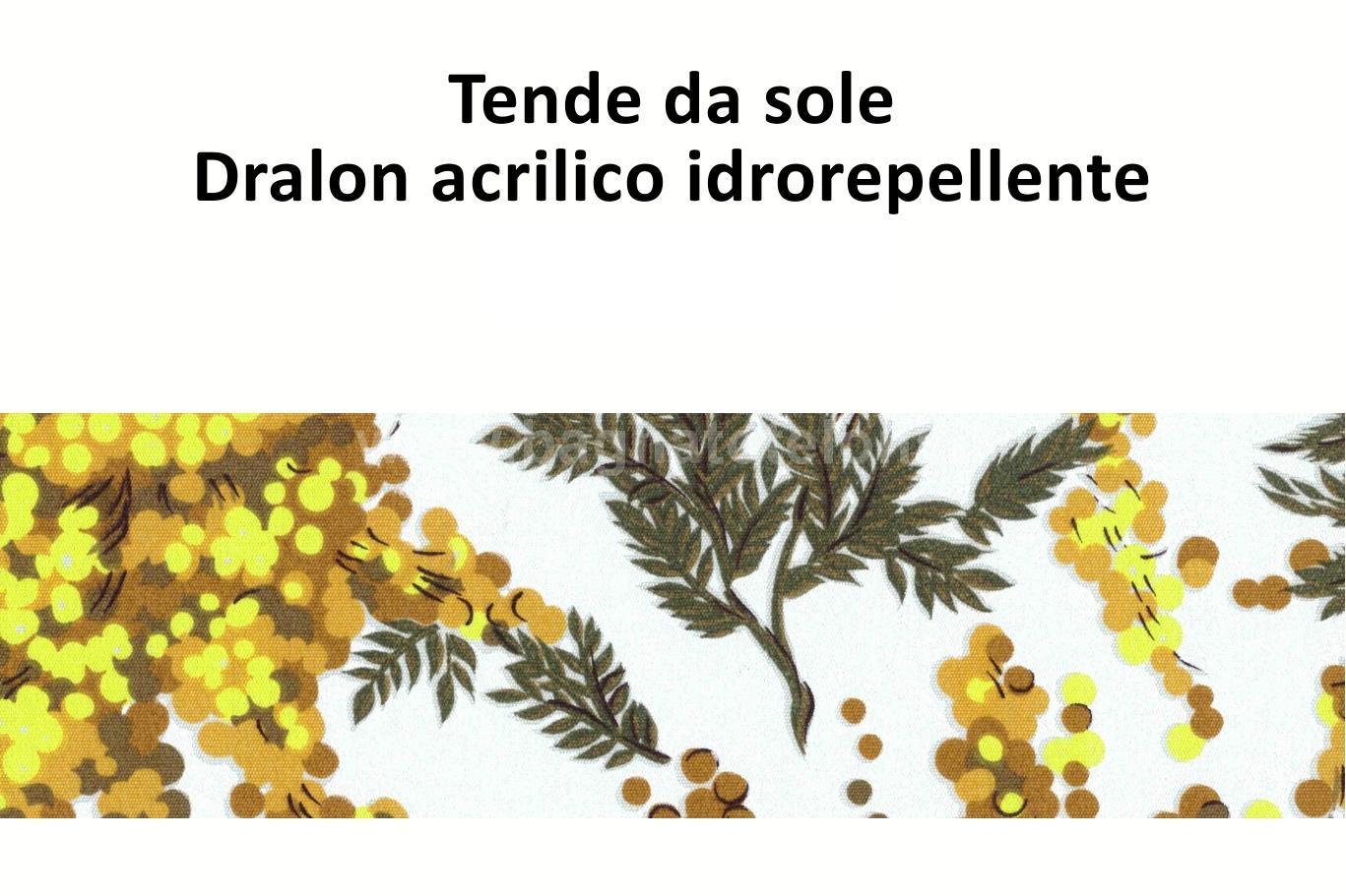 tende da sole dralon acrilico idrorepellente mimosa