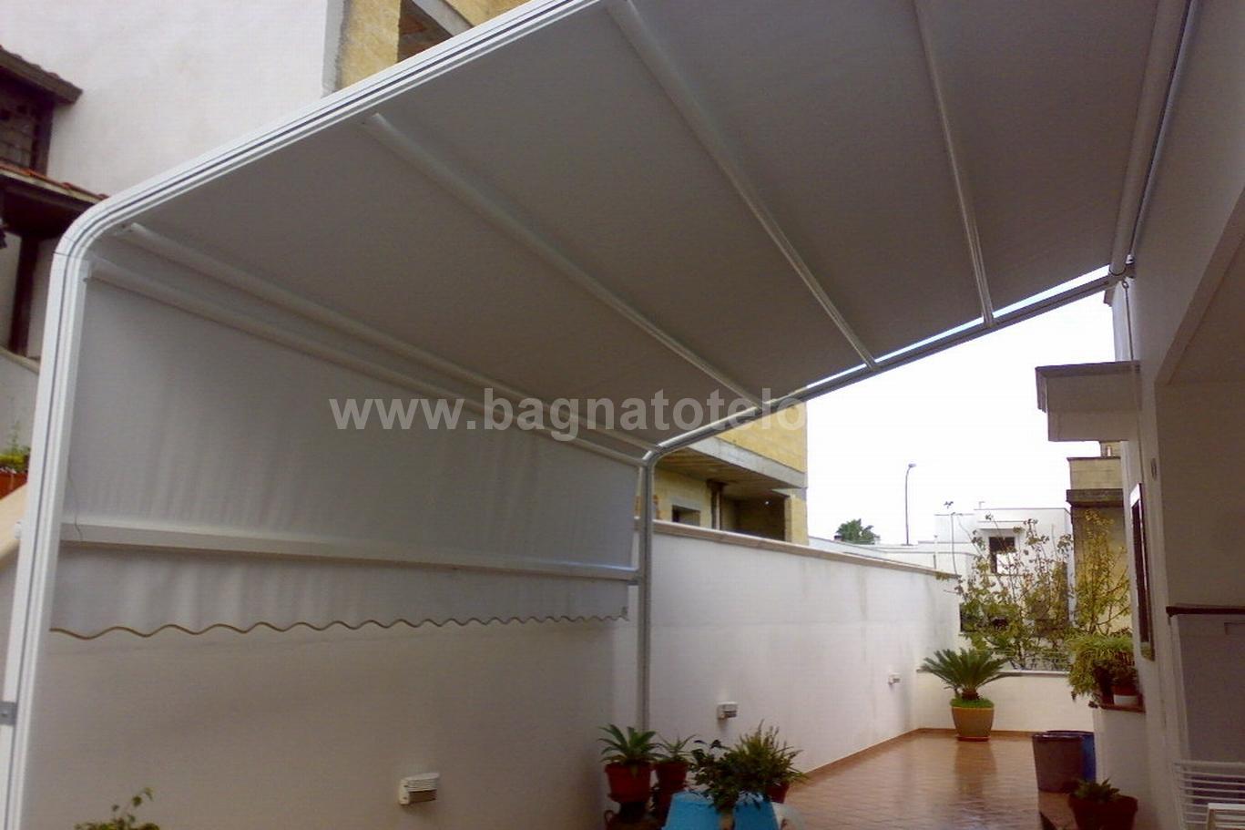 Tende modello attico tende da sole modello attico in tessuto acrilico o in pvc 650 mtq - Tende da esterno leroy merlin ...