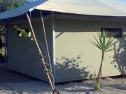Copertura telonata in PVC oscurante 680gr./mq. alloggi tenda telonati per campeggio