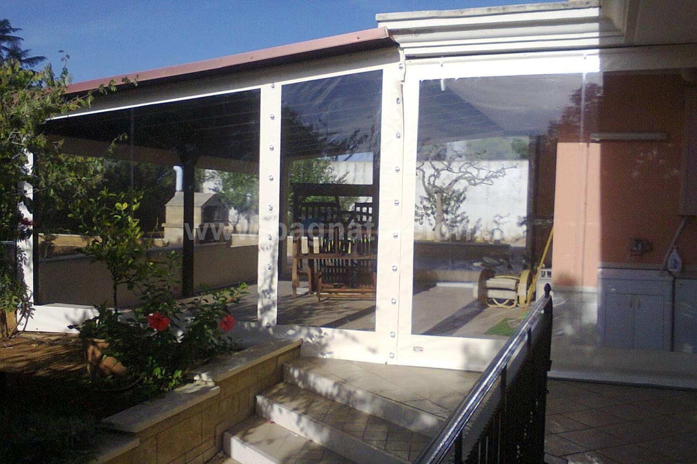 Tende in cristal : Realizzazione artigianale di tende in PVC ...