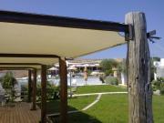 vele tensotese ombreggianti con rete tentmesh per ricezioni turistiche e alberghi 1
