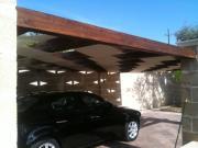 Tenda pergolati fasce onda su strutture in legno 5
