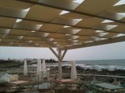Tenda pergolati fasce onda su strutture in legno 6